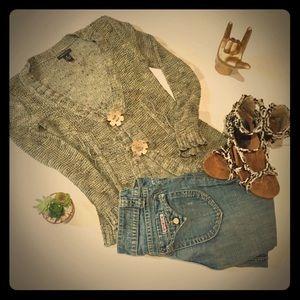 BCBG hippy boho sweater